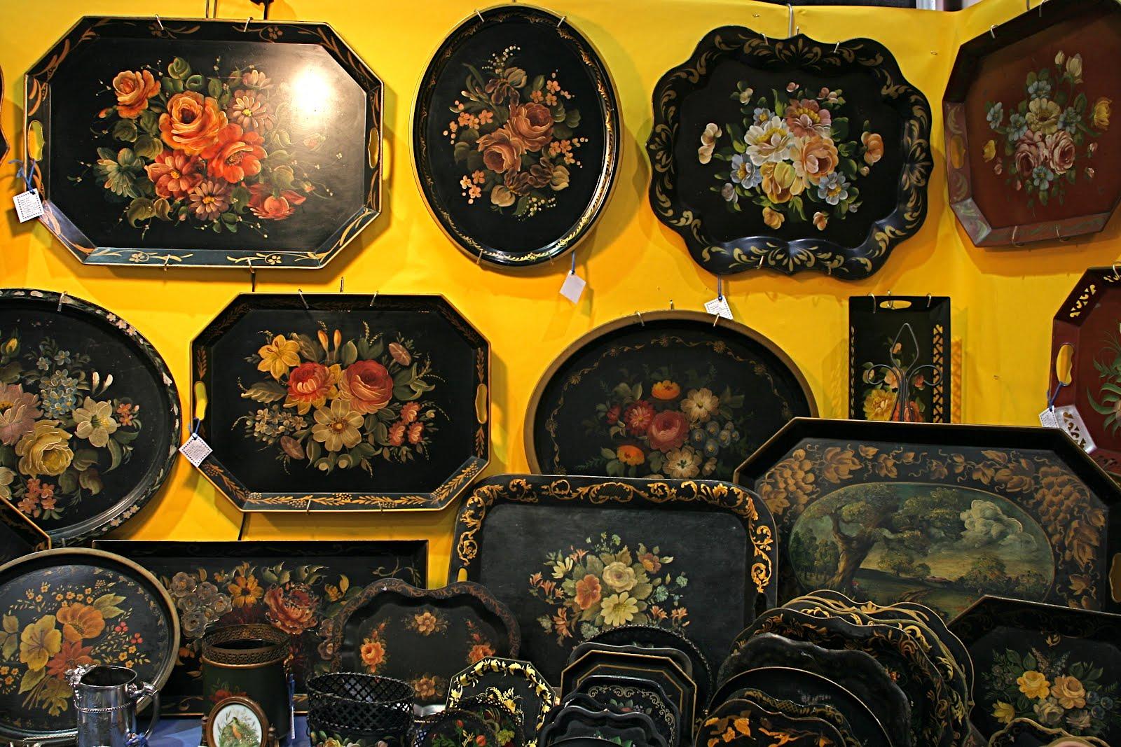 vignette design timeless tole trays. Black Bedroom Furniture Sets. Home Design Ideas