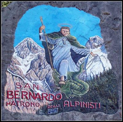 SAN BERNARDO PATRONO DEGLI ALPINISTI