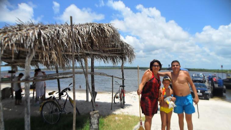 The beach in Paraiba