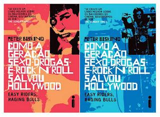 Capas dos livros Como a geração sexo-drogas-e-rock'n'roll salvou Hollywood