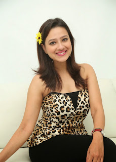 Actress Madalsa Sharma  Pictures at Ramleela 2015 Movie Interview  54
