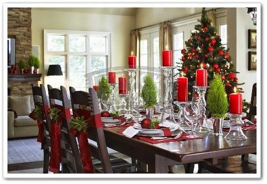 Recortes decorados 15 ideas para tu mesa de navidad y - Mesa de navidad elegante ...