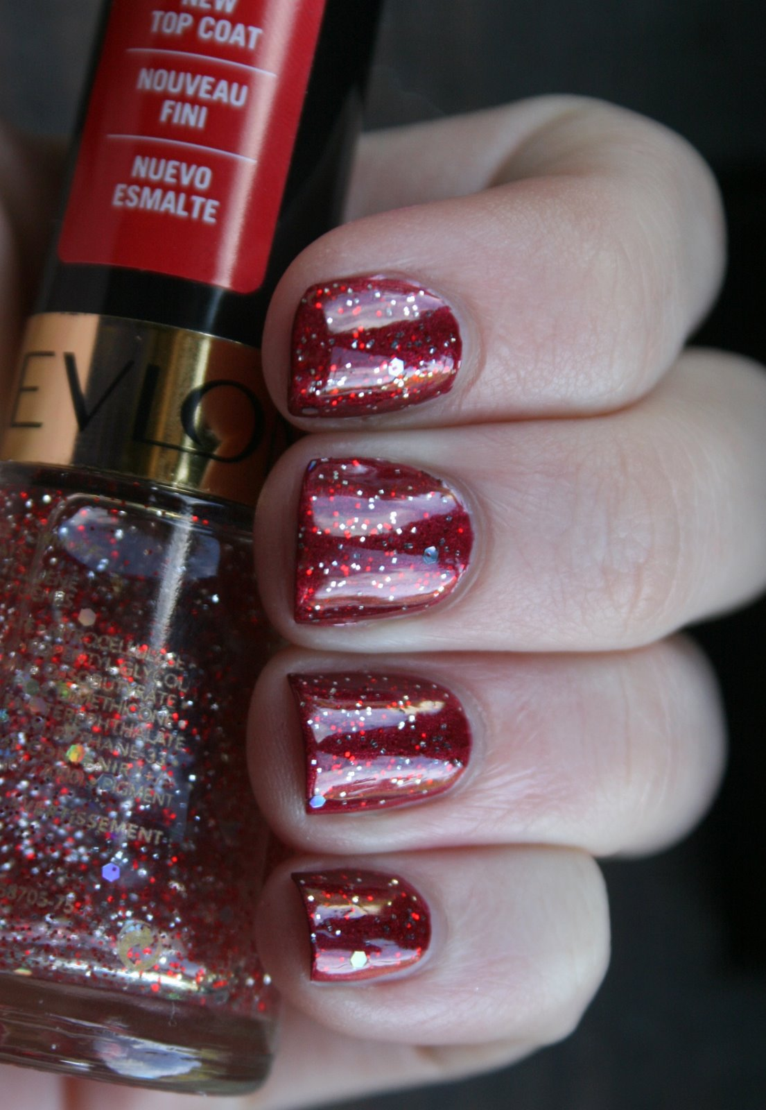 Revlon Slipper over Maybelline Racing Rubies