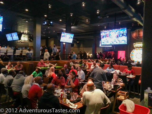 Adventurous tastes restaurant review dave amp busters