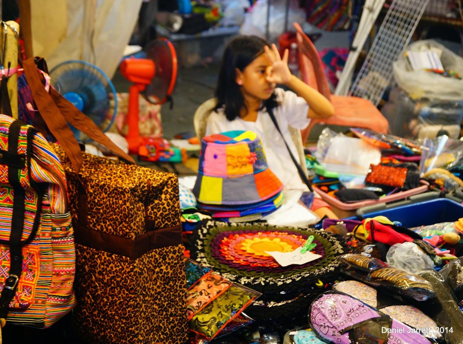 Life in Chiang Mai Night Market