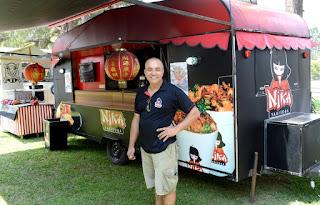 Ildefonso Carneiro: food truck de Teresópolis representa a cidade em vários eventos gastronômicos
