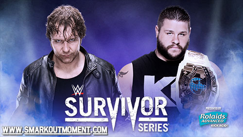 WWE Survivor Series 2015 World Heavyweight Championship Tournament Semifinals Match