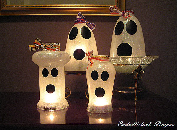 Ghost Candle Shades by Interior Fans