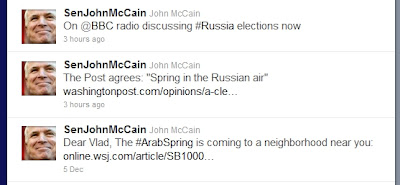 John McCain: Founding Father of the Terrorist Emirate of Benghazi McCainRussiaIRITaunts