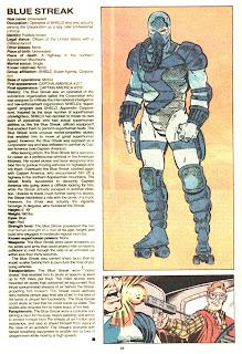 Rayo Azul (ficha marvel comics)