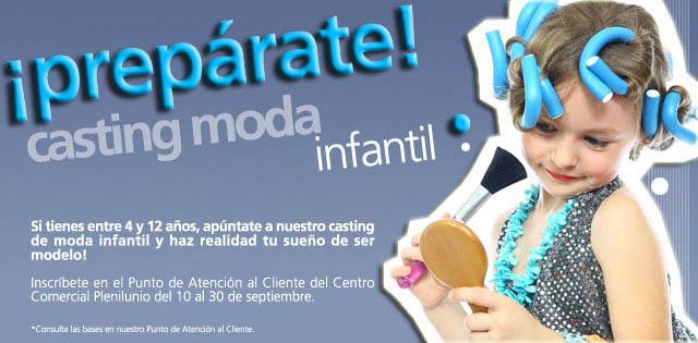 Casting moda infantil Plenilunio viaje Eurodisney