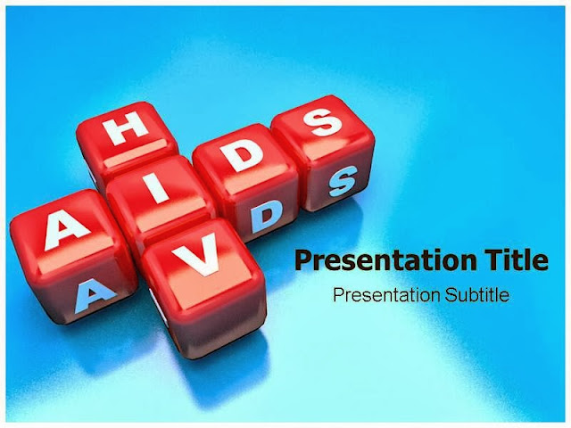 AIDS PowerPoint Background