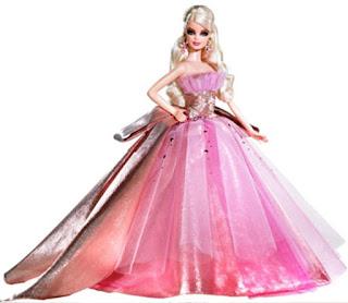 Desain Baju Pengantin Barbie