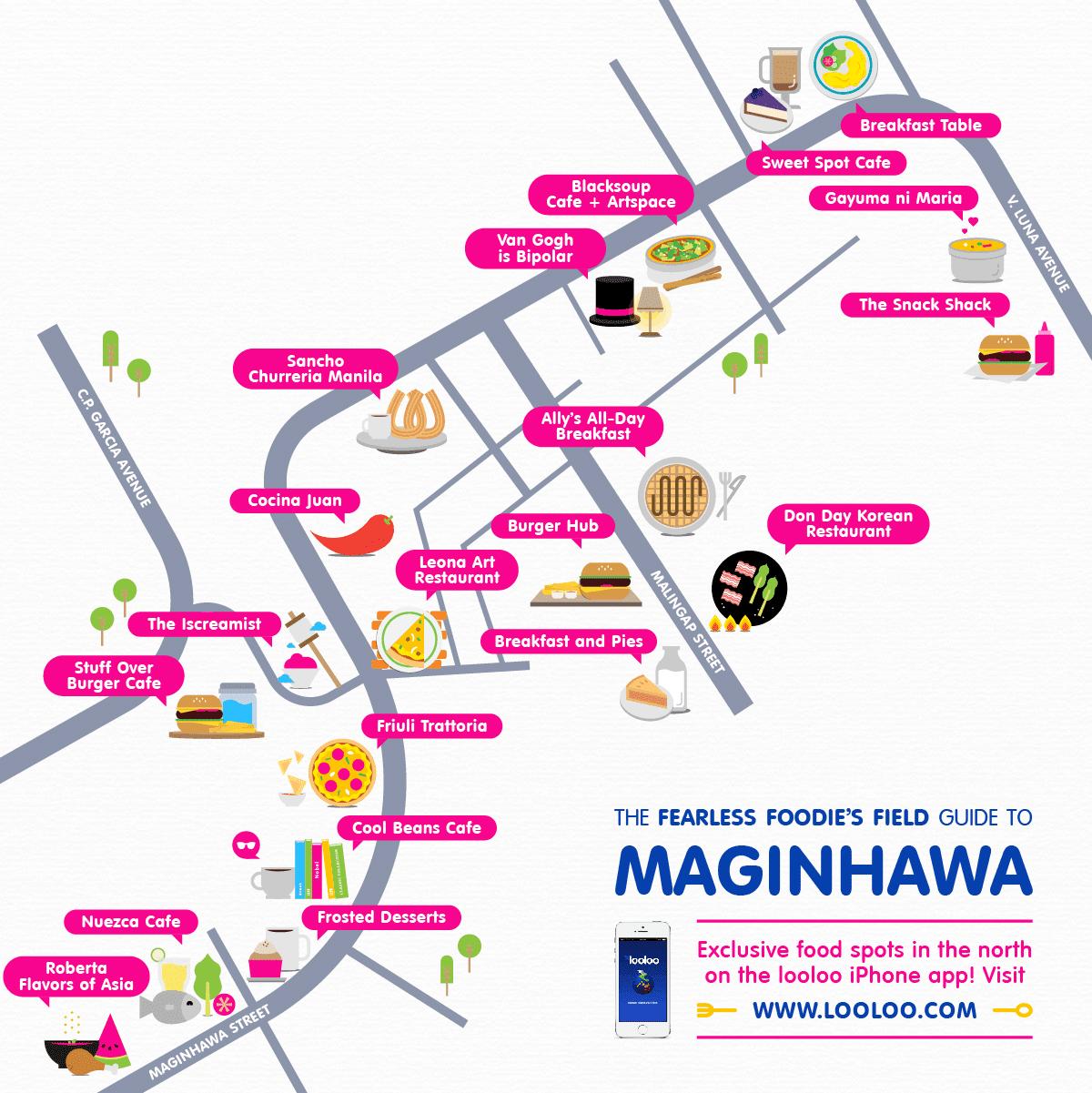 Food guide maginhawa street teachers village quezon for Restaurant guide