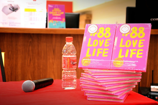 #88LoveLife Surprise Visit at MPH BookStore, Nu Sentral