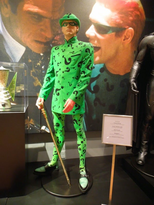 Jim Carrey Batman Forever Riddler costume
