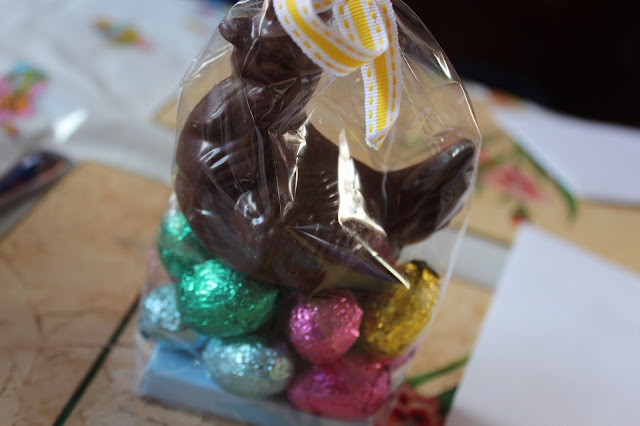 easter chocolate hen