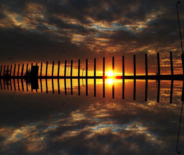 Закат - это отражение прошедшего дня