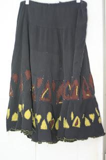 Gauze skirt - day 22 (I think!)