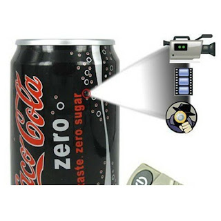 Jual MIni Dv Spy Camera 5Mp Murah COCA COLA Can Pinhole Spy Camera Surveillance DVR Camcorder with Remote Control and 4GB Internal Memory