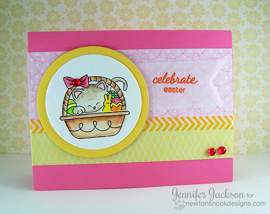 Easter Cards using Basket of Wishes Stamp set | Newton's Nook Designs