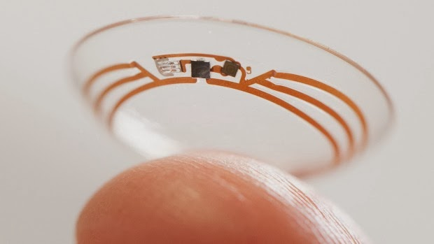 Google Smart Contact Lens, google, wearable device, google glass, wearable tech