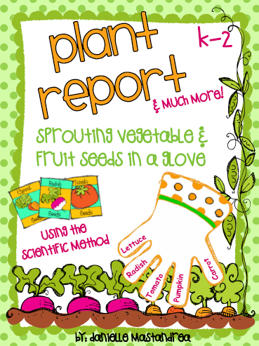 http://www.teacherspayteachers.com/Product/Plant-Report-Sprouting-Vegetable-Fruit-Seeds-in-a-Glove-669524