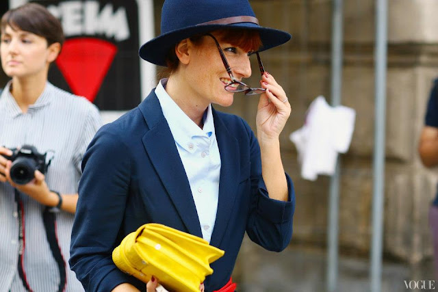 Milan Fashion Week Street Style !
