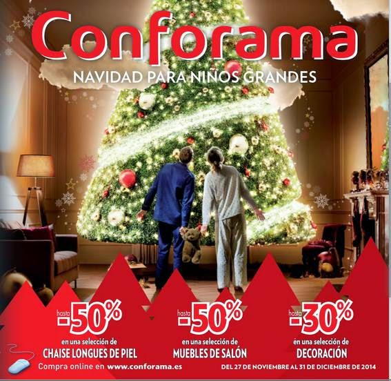 Catalogo Conforama Navidad 2014