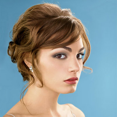 Short Bridal Hairstyles Pictures For Long Hiar With Veil Half Up 2013 For Short Hair Indian Half ...