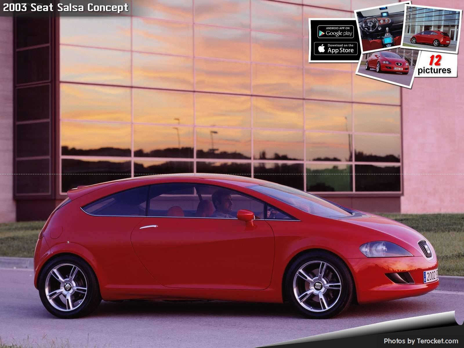 Hình ảnh xe ô tô Seat Salsa Concept 2003 & nội ngoại thất