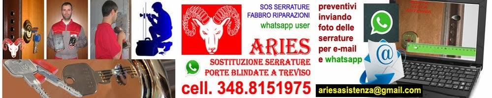 Sostituzione serrature Treviso, assistenza apertura porte blindate, sos fabbro a Treviso.