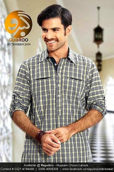 Gubroo Men's Wear Collection 2014