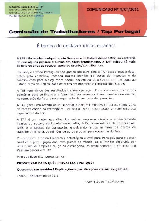 Comunicado 04/2011