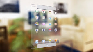 ipad transparent