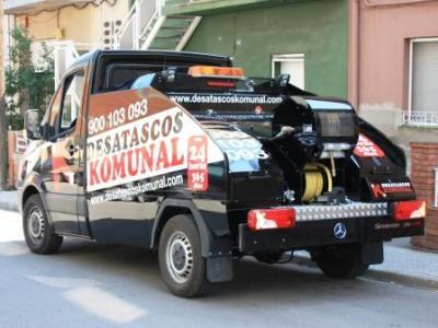 Desatascos con camión cuba en Mataró