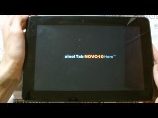 Что делать если завис планшет при включении lenovo
