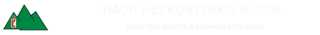 HAUR HEZKUNTZA.