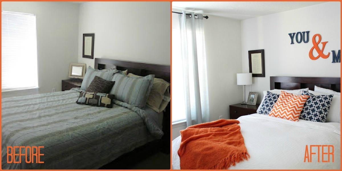 budget bedroom makeover 1