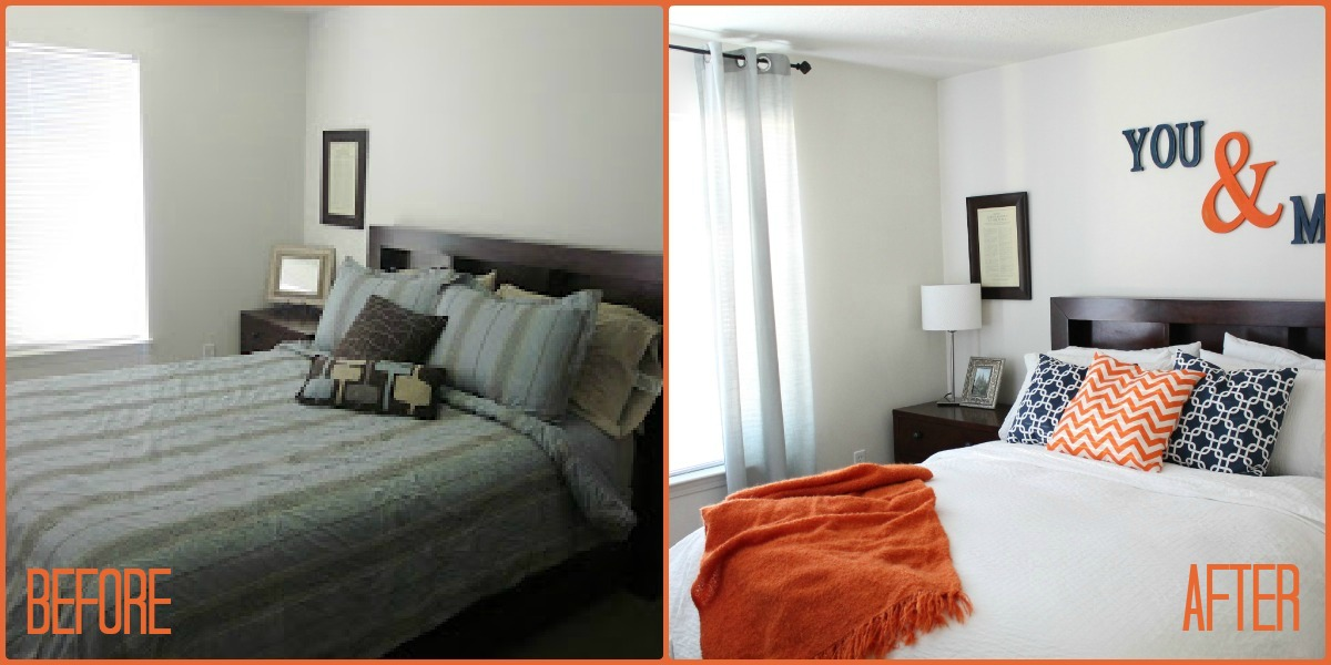 Master Bedroom Makeover master bedroom makeover on a budget | six sisters' stuff