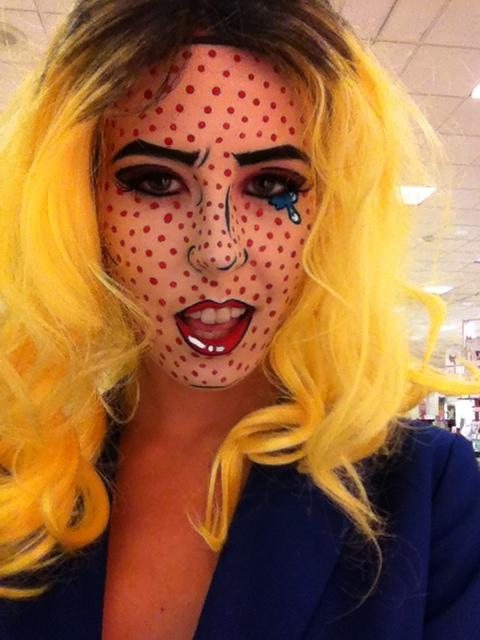 pop art costume roy lichtenstein pop art costume