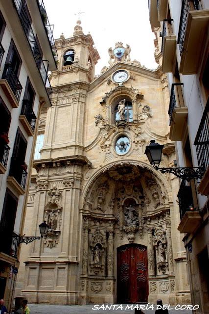 Iglesia de Santa María de Donostia