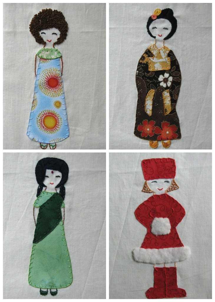 Knitting Embroidery Bordado : Deshilachado cuellos de punto y un bordado knit cowls