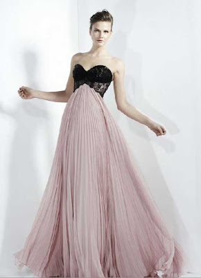 Dantel Gece Elbise Modelleri 9