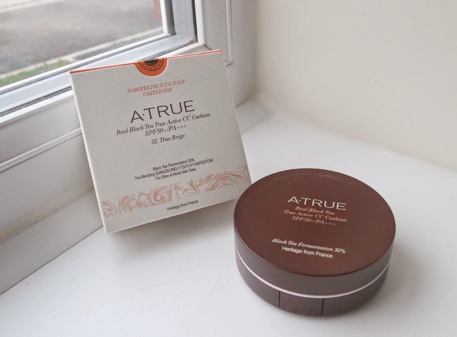 CC Cushion, A.True CC Cushion, tea beauty products