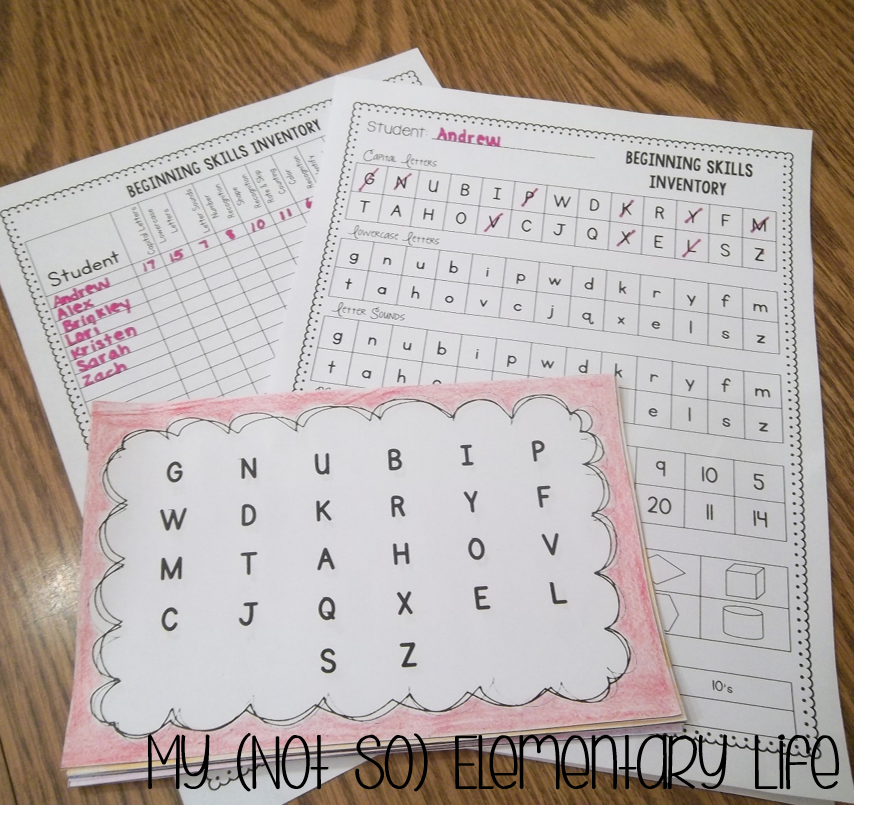 http://www.teacherspayteachers.com/Product/Kindergarten-Skills-Inventory-723322
