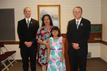 Amparo & Rocio's Baptism