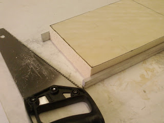 carving foam for the seat