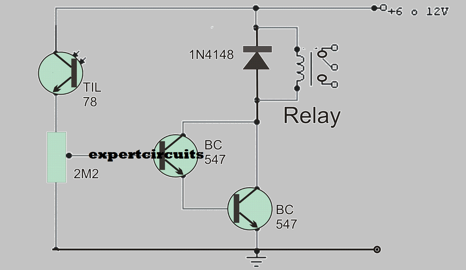 Simple Light Operated Circuit | Expert Circuits