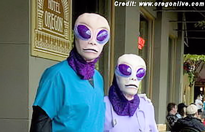 UFO Fanatics are Flocking to Oregon: 2014 McMenamins UFO Festival